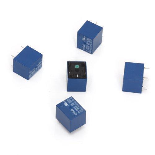 5 Stück 5V DC Mini Power Relay PCB Typ Leistungsrelais