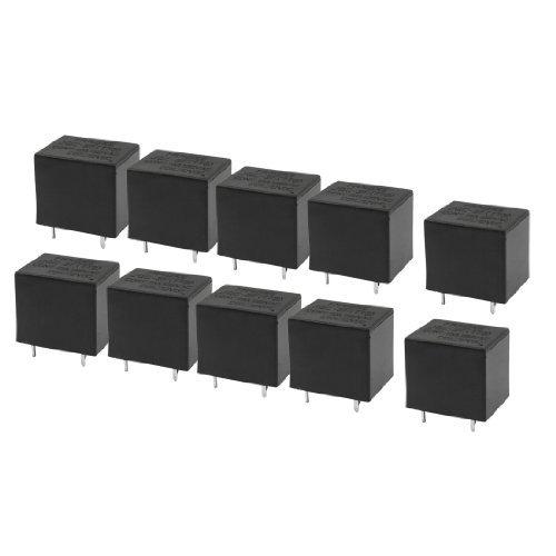 10 Pieces DC 12V 10A 125V AC spoel 5 Pins SPDT PCB JQC-3FT73