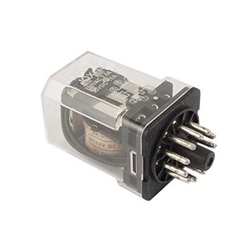 JQX-10F 3Z DC 12V PCB elektromagnetische Relais 7.5A 220V AC / 10A 24VDC