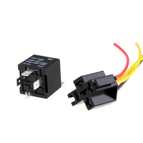 2x KFZ-Relais 12V 40A 4 Pin