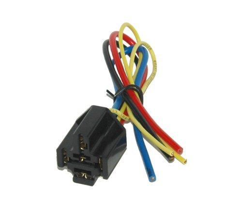 5pol. Sockel für KFZ Relais max. 12V 40A #0124W9#