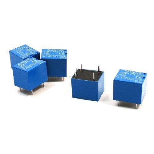 JQC-3F (T73) 12V DC SPDT PCB Plug Relais
