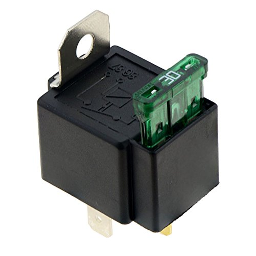 DC On / Off Relais 12V 30A 4-pin