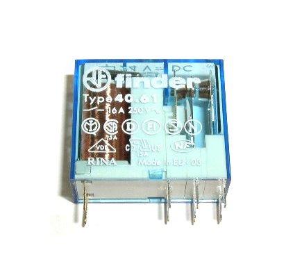 Finder Relais 40.61 12V DC 1xUM 16A 250VAC