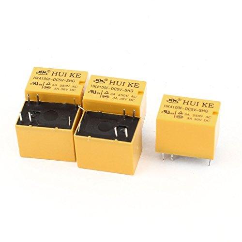 5 stuk DC 5V Coil SPDT 1NO 1NC 6 Pins PCB soort Mini Signal Vermogen Relais
