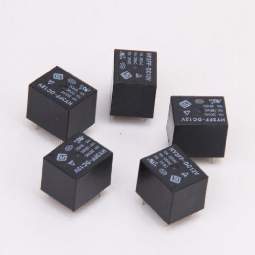 5X Mini Pcb Art Elektronisches Relais 12V DC