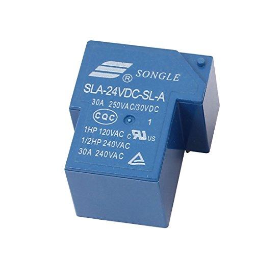 sourcingmap® DC5V Spulen SPDT PCB Typ Plug-in Elektromagnetische Relais SLA-05VDC-SL-C
