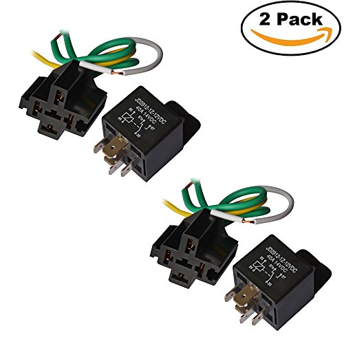 Ehdis® ReIaissockel Harness-Kit vorverdrahtet 12V 40 A SPDT wasserdicht