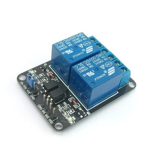 SainSmart 2-Channel 5V Relais Modul for Arduino UNO MEGA R3 Mega2560 Duemilanove Nano Robot